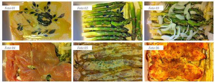 slide sformato pollo e asparagi