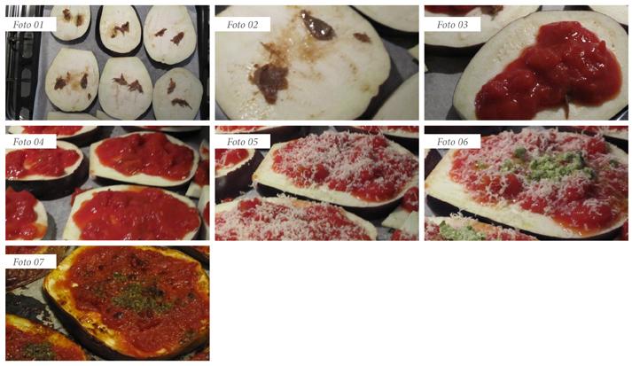 slide pizzette di melanzane