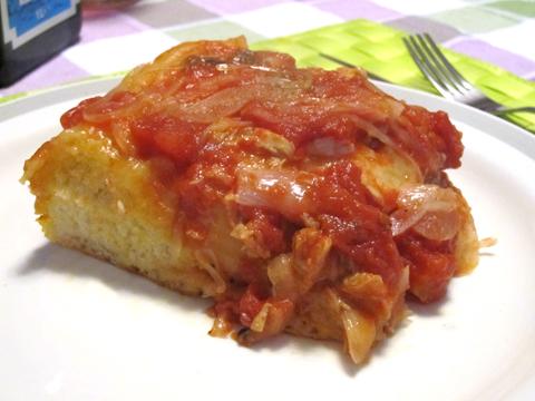 pizza rovesciata