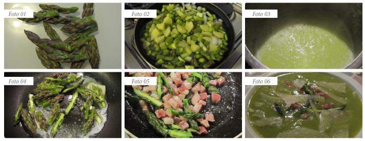 procedimento vellutata di asparagi