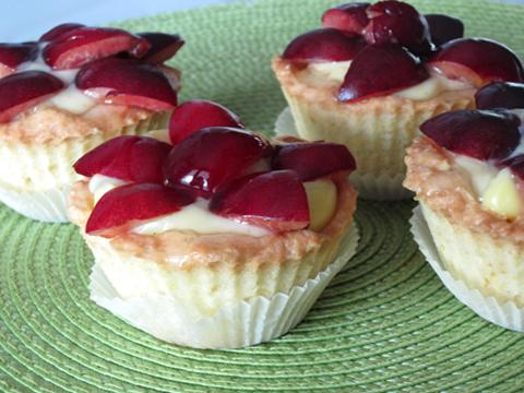 pasticcini con le ciliegie