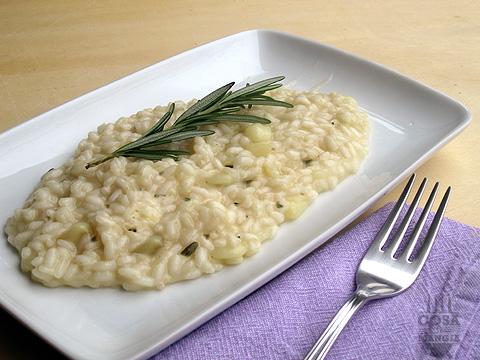 risotto con le patate