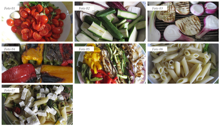 passaggi summer pasta con le verdure