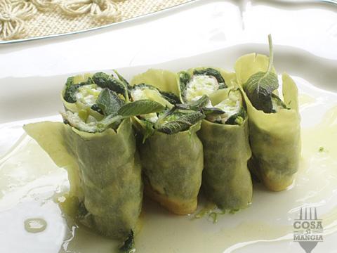 involtini ricotta spinaci prosciutto