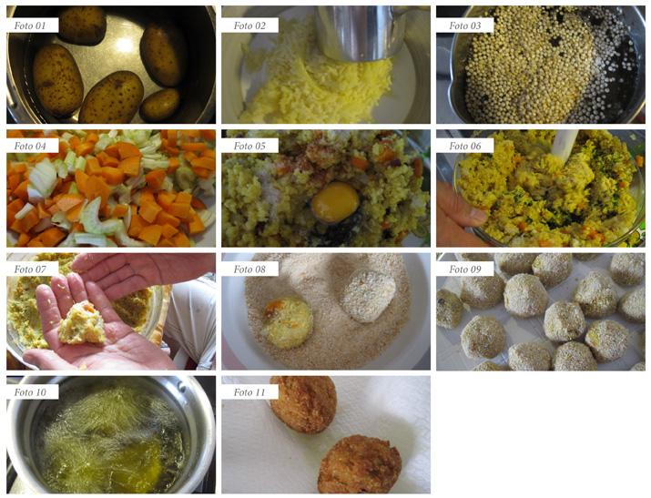 passaggi polpette di quinoa