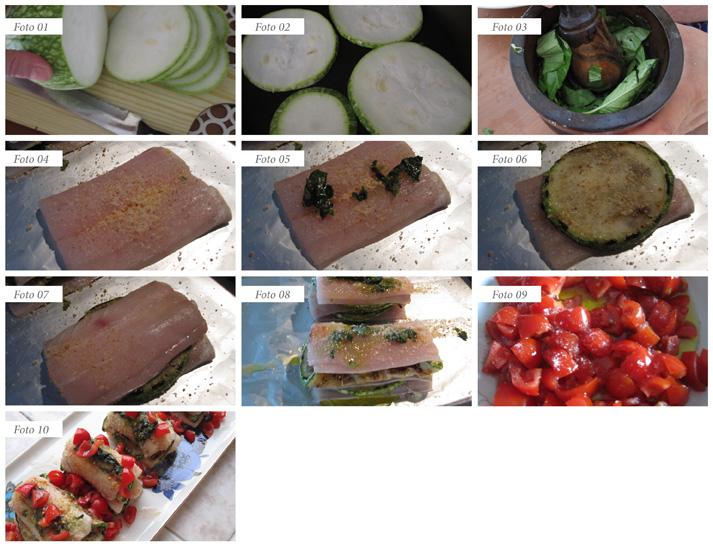 passaggi millefoglie pesce spatola e zucchine