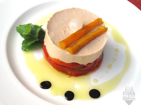 ricetta mousse di tonno e peperoni grigliati